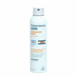 Fotoprotector ISDIN Transparent Spray Wet Skin SPF 50+ 250ml