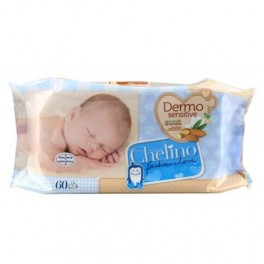 Chelino Dermo Sensitive 60 toallitas