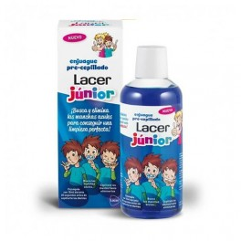 Enjuague pre-cepillado LACER JUNIOR 500ml