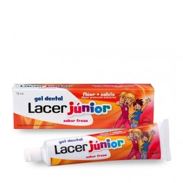 Gel Dental LACER JUNIOR Fresa 75ml