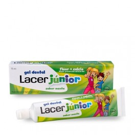 Gel Dental LACER JUNIOR Menta 75ml