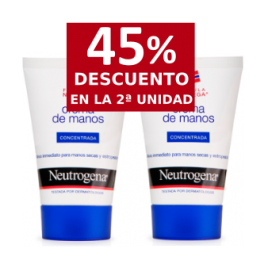 Neutrogena Crema de Manos Concentrada 50ml + 50ml
