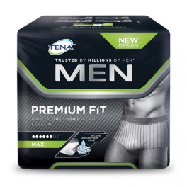 TENA Men Premium Fit Protective Underwear Level 4 TL 10 unidades